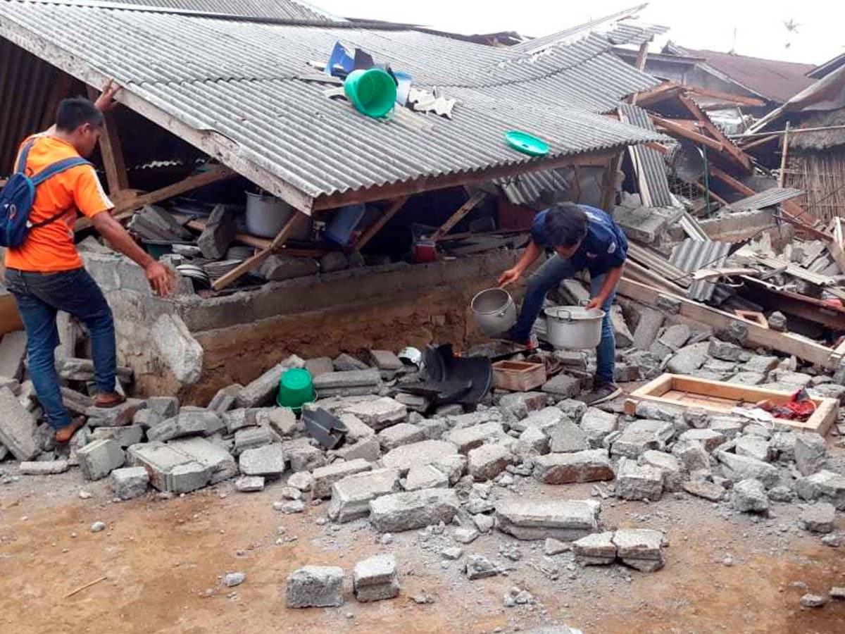 terremoto isla Lombok Indonesia