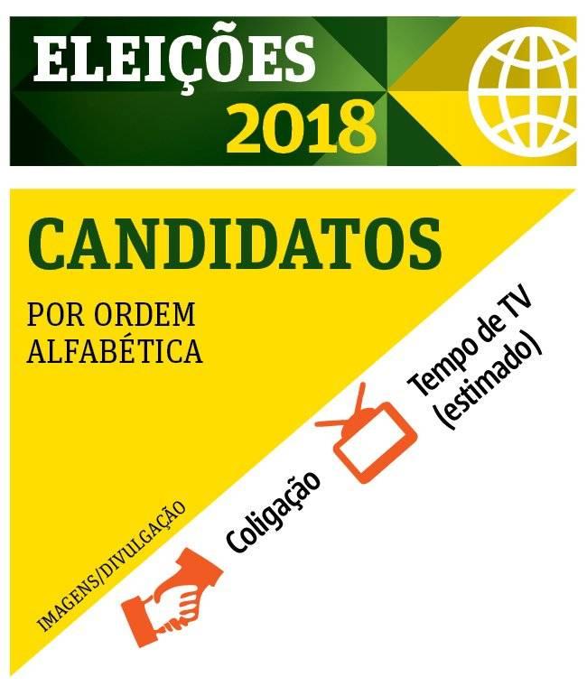 Eleições 2018 - Candidatos