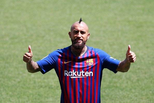 Getty imágenes Arturo Vidal, nuevo refuerzo del FC Barcelona