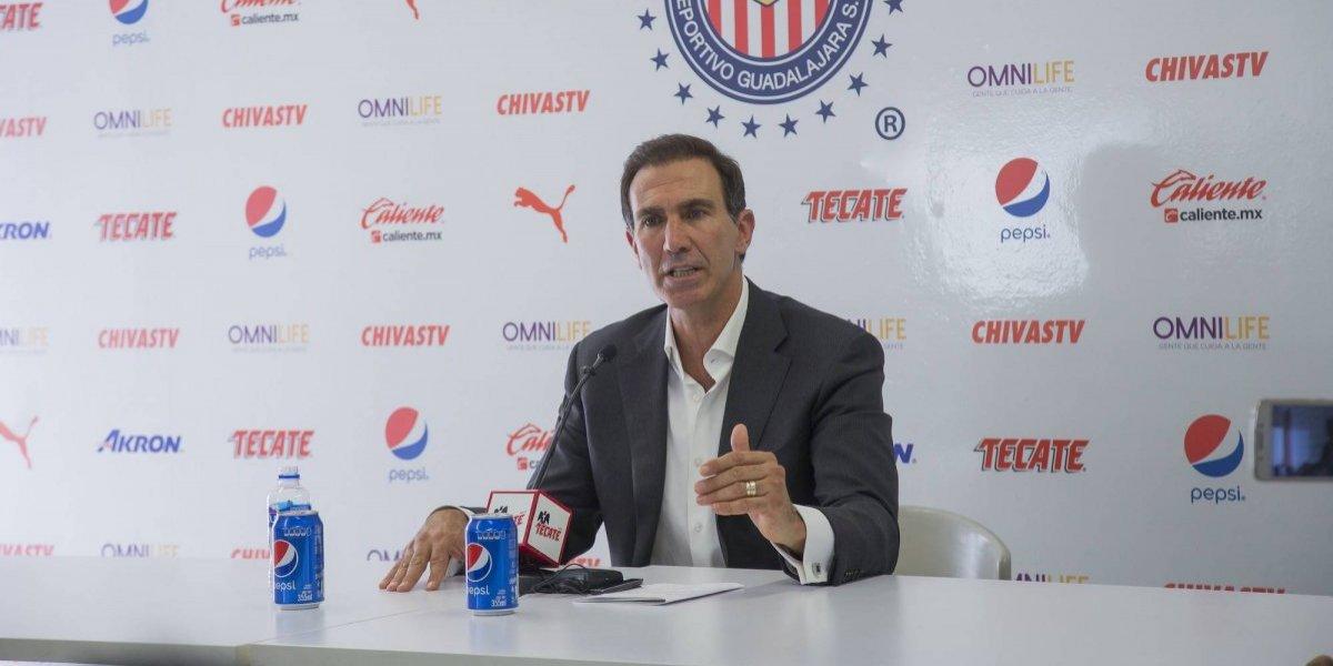 De Anda responde a Pizarro tras su salida de Chivas