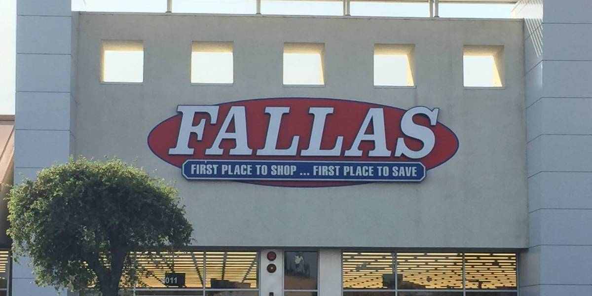 Empresa matriz de tiendas Fallas radica quiebra