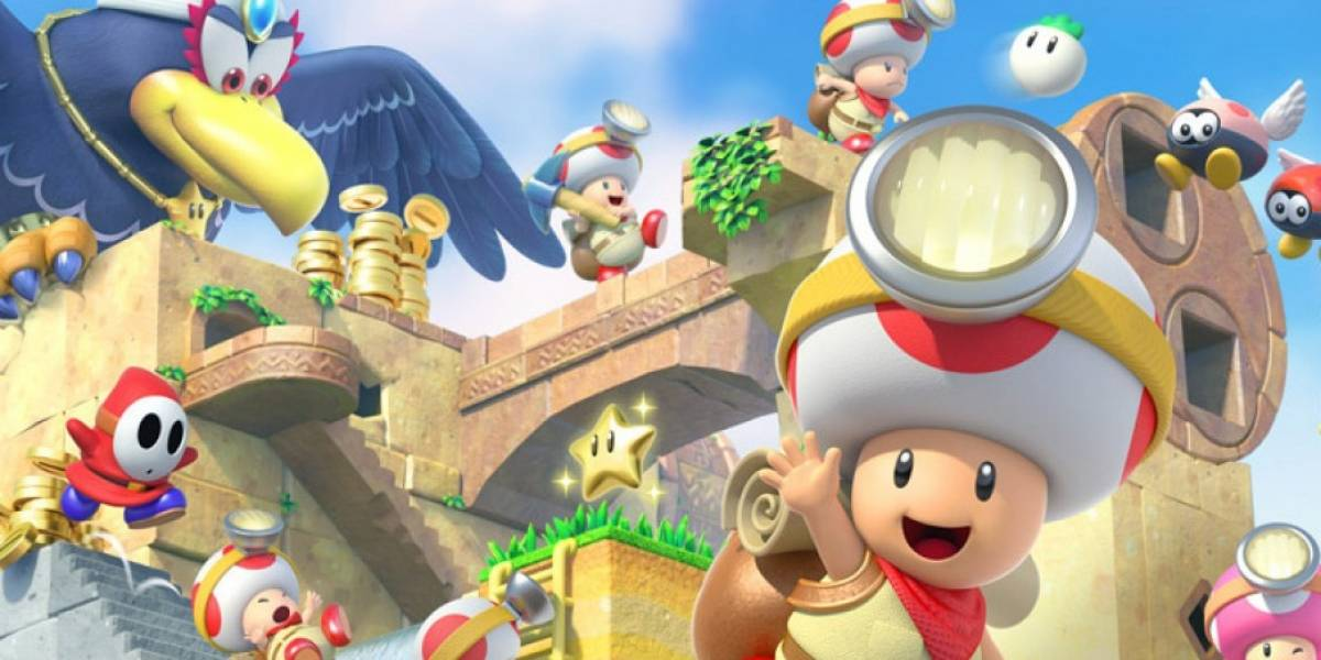 Captain Toad: otra aventura que regresa recargada para Switch y 3DS