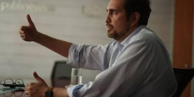 Andrés Dávila, gerente de Comunicaciones de Minera San Rafael