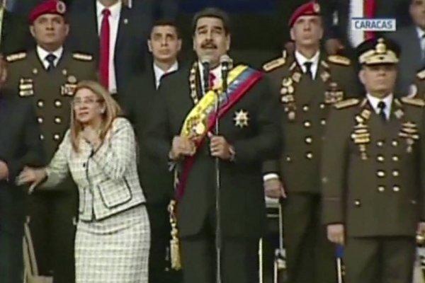 Nicolás Maduro explosión dron