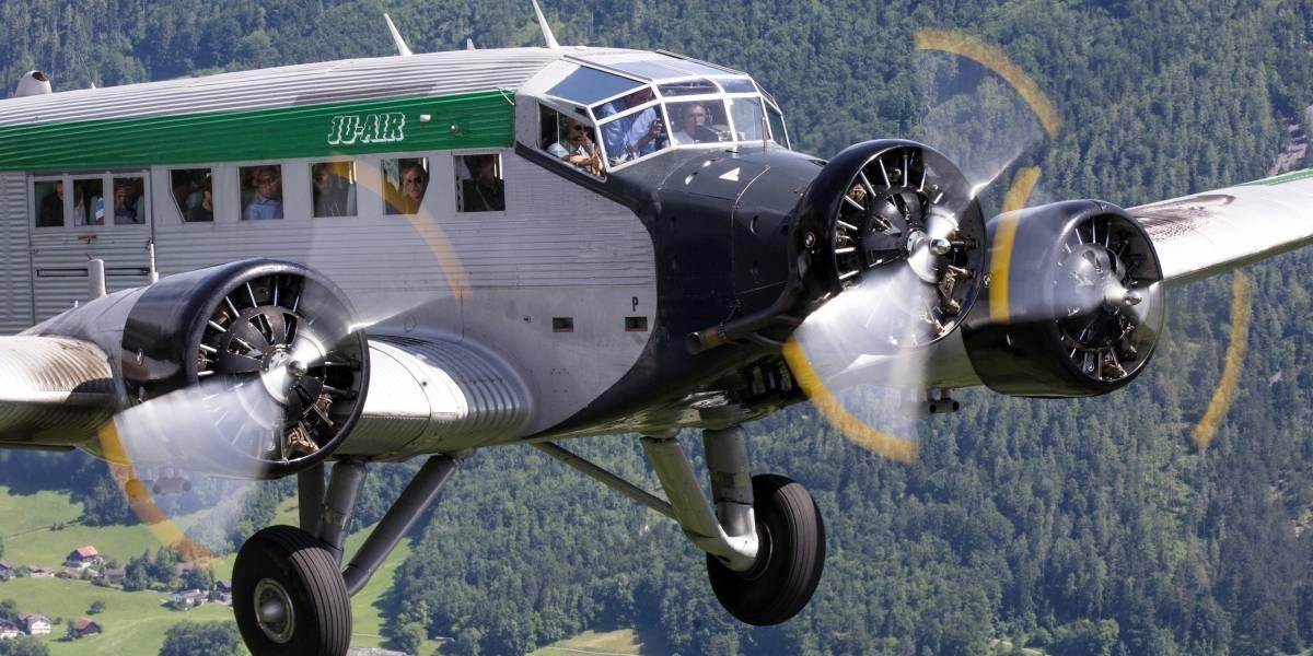 """Junkers Ju-52: así es el avión """"vintage"""" que se estrelló en los Alpes suizos"""