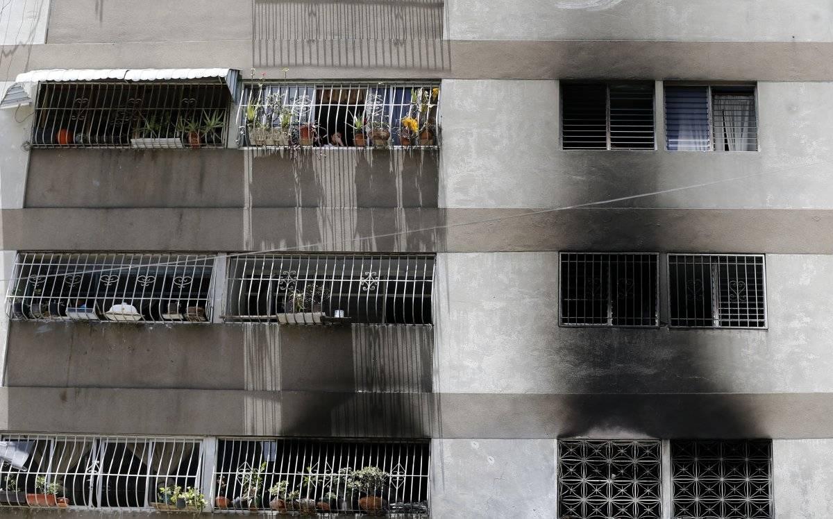 edificio dron Nicolás Maduro