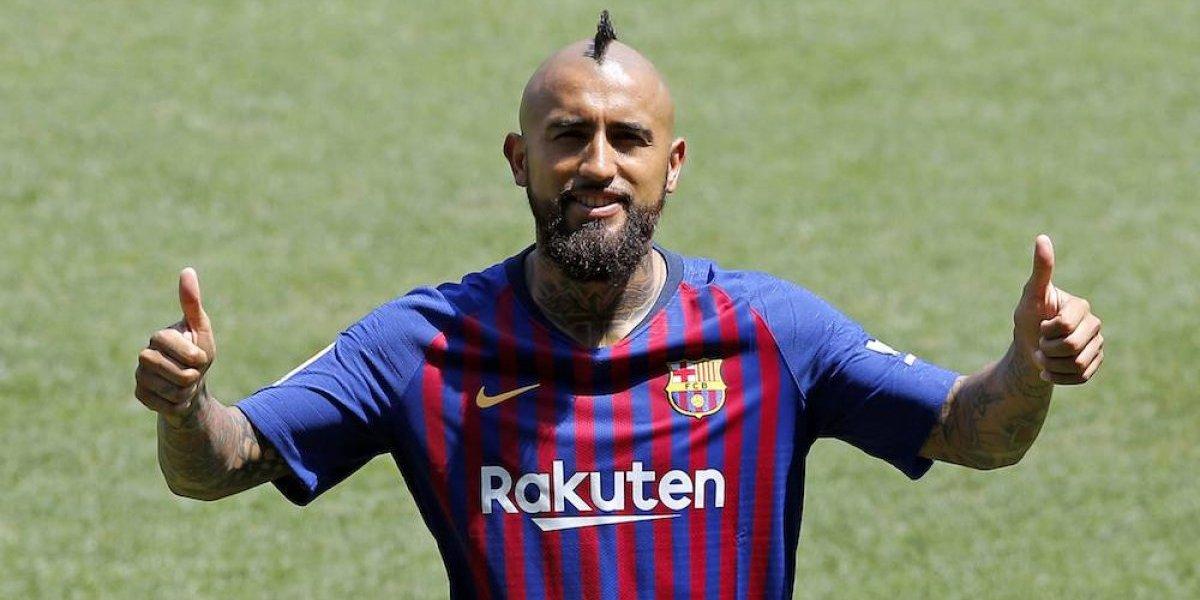 Arturo Vidal quiere ganar la Champions League con el Barcelona