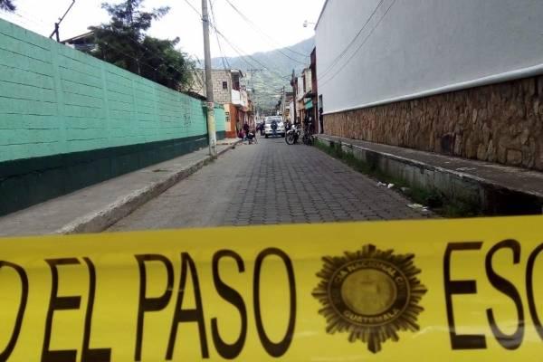 ataque armado en escuela de Amatitlán