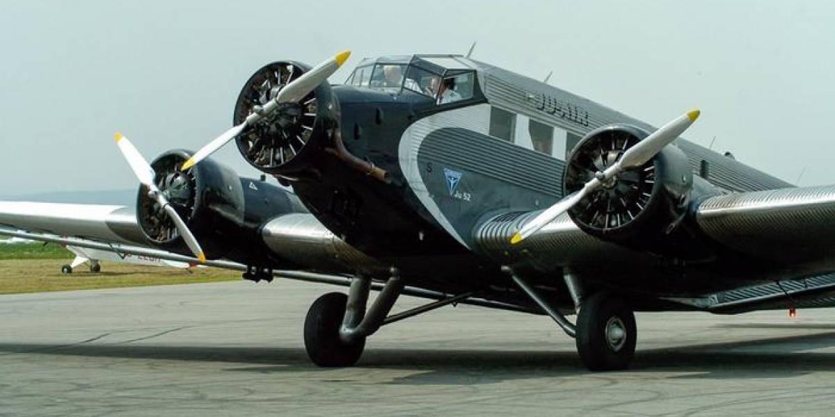 """Así es el avión """"vintage"""" que se estrelló en Suiza"""