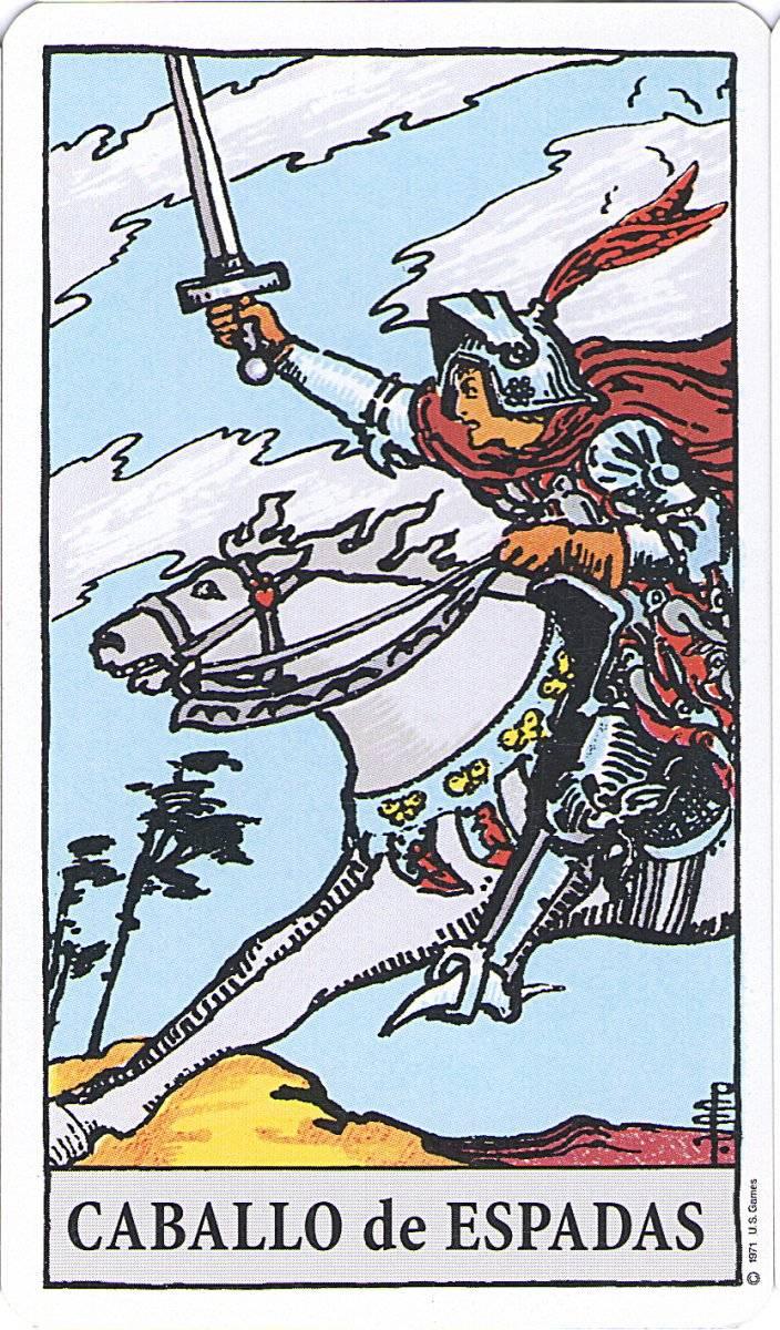 caballo de espadas