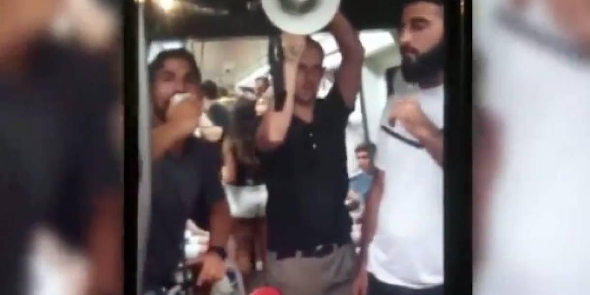 """""""¡Vamos a morir todos!"""": un grupo de evangélicos provoca el pánico en el metro de Valencia"""