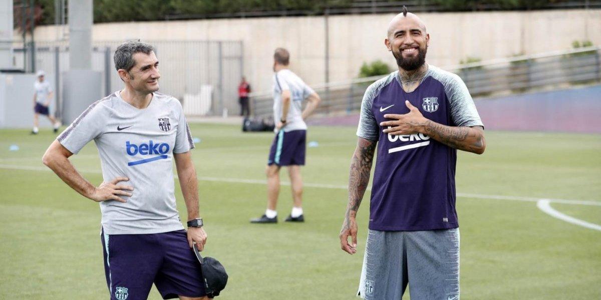 La vida de Rey que tendrá Arturo Vidal en Barcelona
