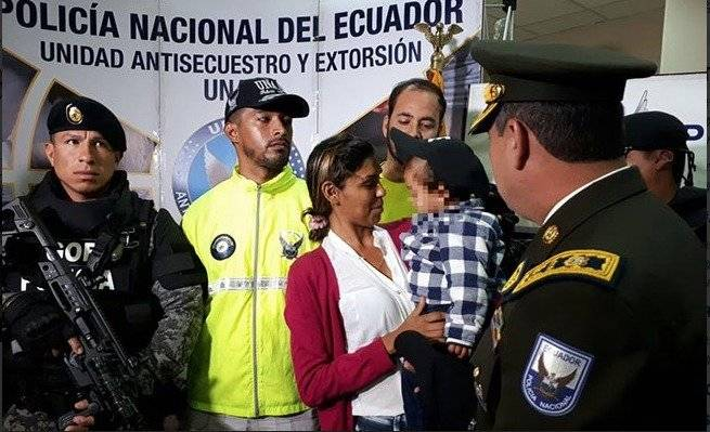 Niño venezolano hallado en Cuenca fue secuestrado por ecuatoriana Policía Nacional