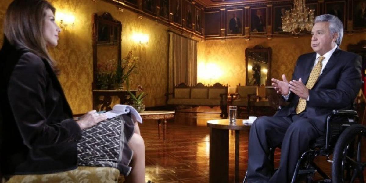 "Lenín Moreno: ""Me gustaría que Rafael Correa no vaya preso"""