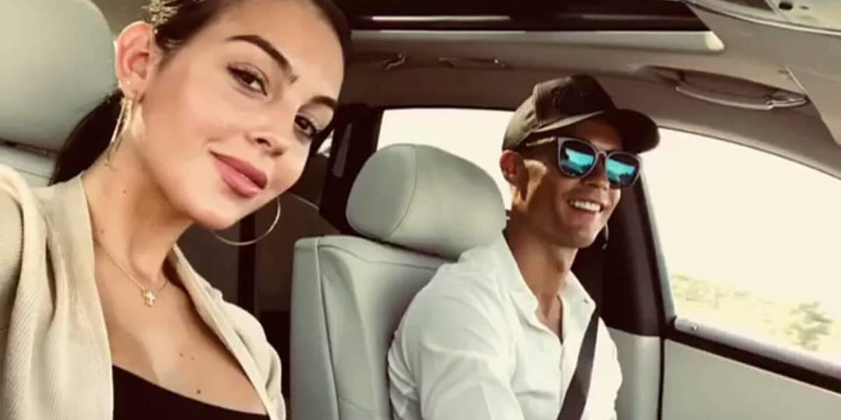 Cristiano Ronaldo e namorada fazem compras em bairro de luxo em Milão