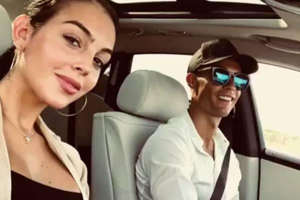 Cristiano Ronaldo e namorada Georgina Rodríguez