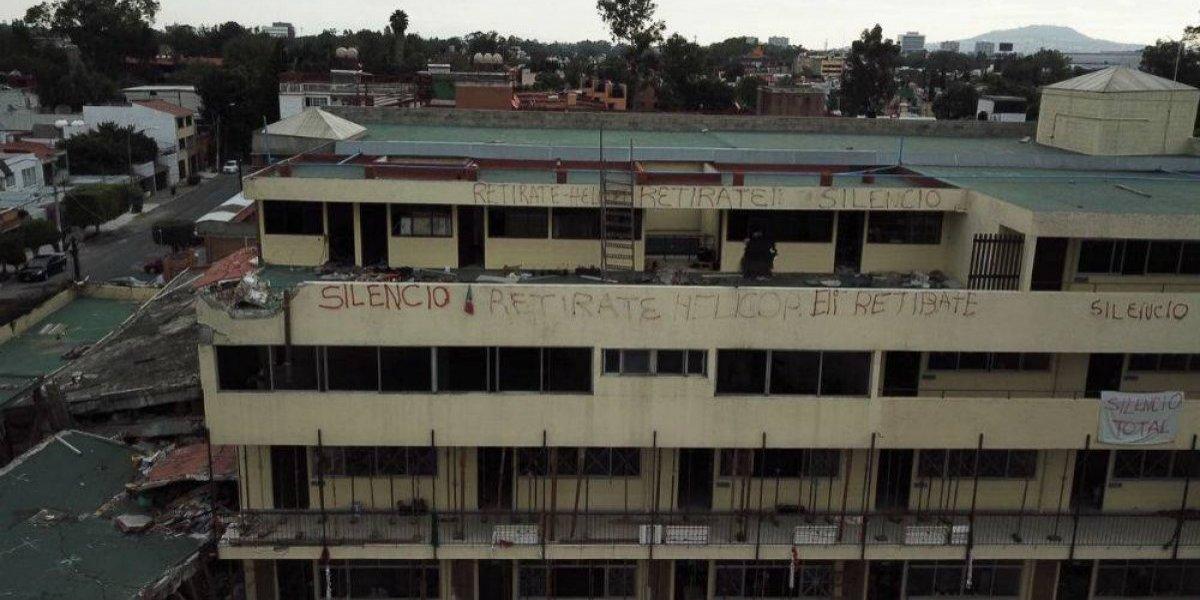 Tras 11 meses, familias y peritos acuerdan demoler Colegio Rébsamen
