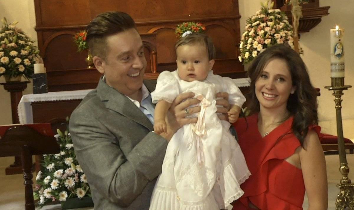 Daniel Bisogno y su familia