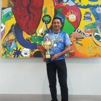 David Arriola, maestro de Educación física