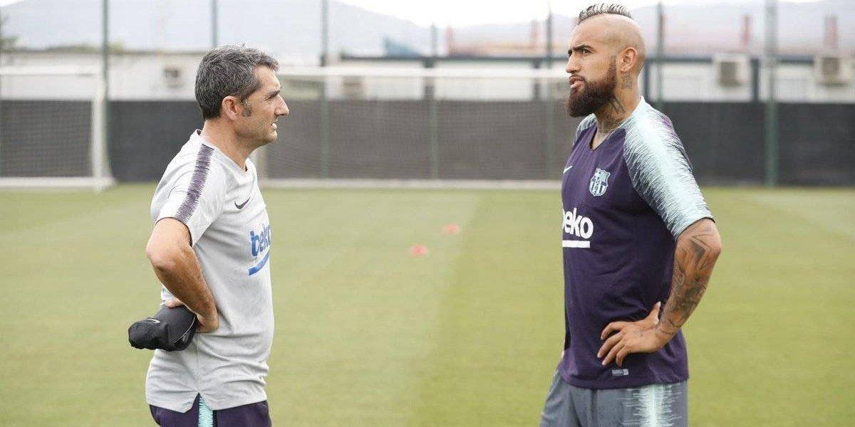 """Valverde confía ciegamente en Arturo Vidal: """"Es un jugador agresivo en defensa y en ataque"""""""