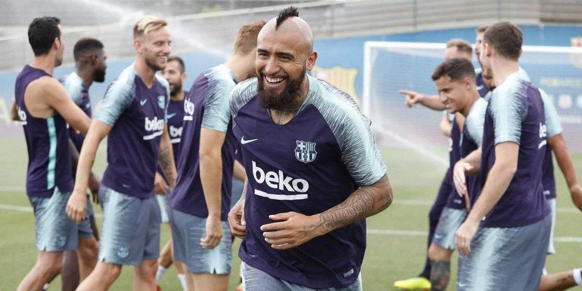 "Gerard Piqué aplaude a Arturo Vidal: ""Se nota que estuvo con Pep Guardiola"""