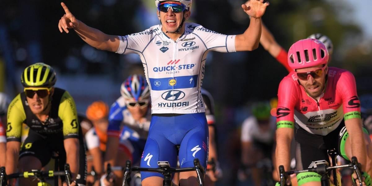 ¡Más orgullo colombiano! Álvaro Hodeg gana etapa y es líder en el Tour de Polonia