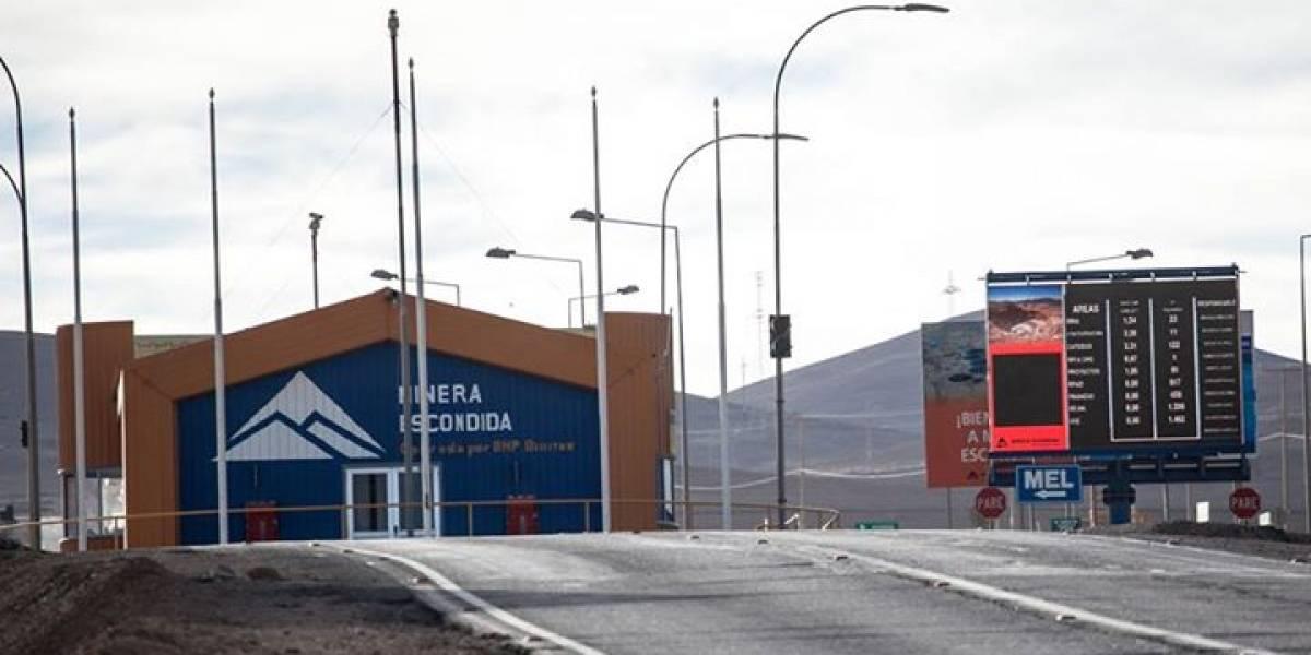 Huelga en pausa: minera Escondida solicita mediación obligatoria a la Inspección del Trabajo