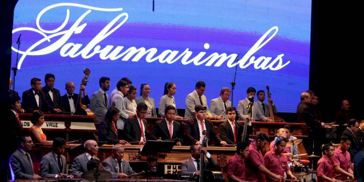 Asiste al Ensamble Nacional de Fabumarimbas en el Teatro Nacional