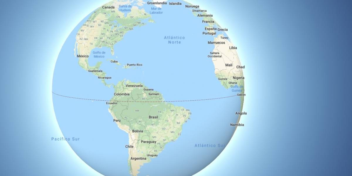 ¡Hola terraplanistas! Google Maps ahora muestra que la Tierra es redonda