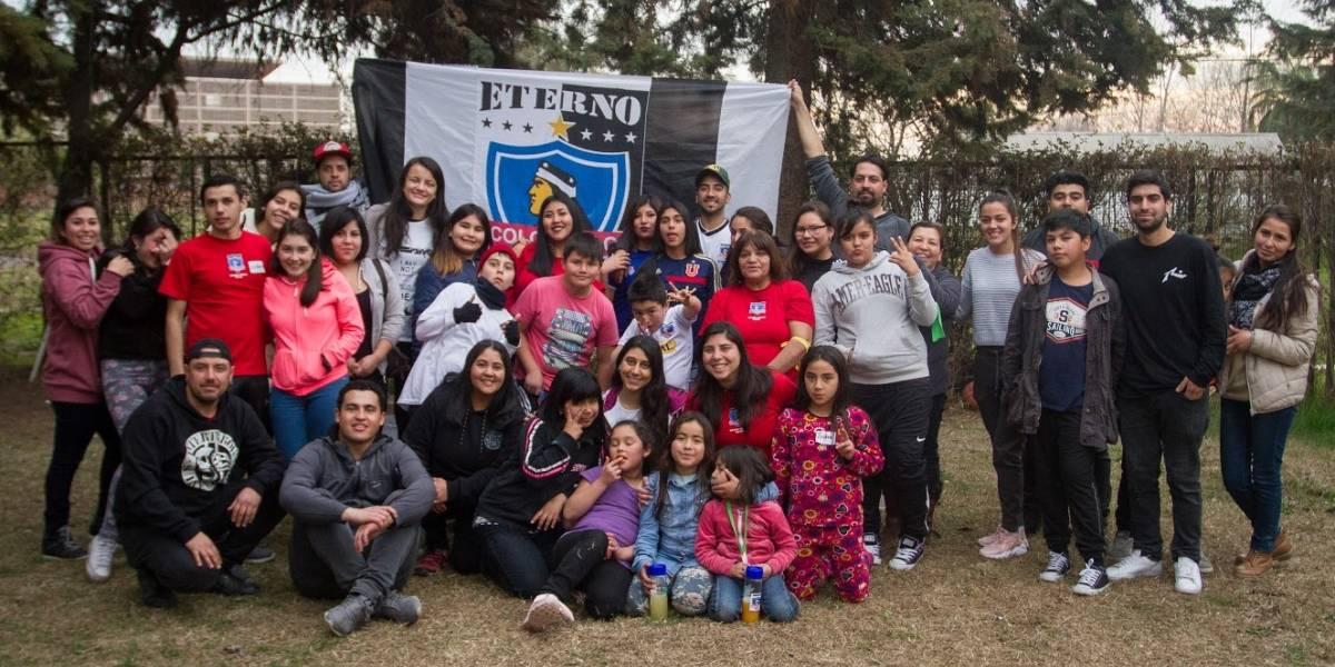 CSD Colo Colo celebró día del niño en el hogar Protectora de la Infancia