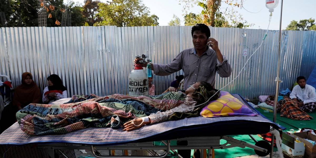 Sobe para 140 o número de mortos em terremoto na Indonésia