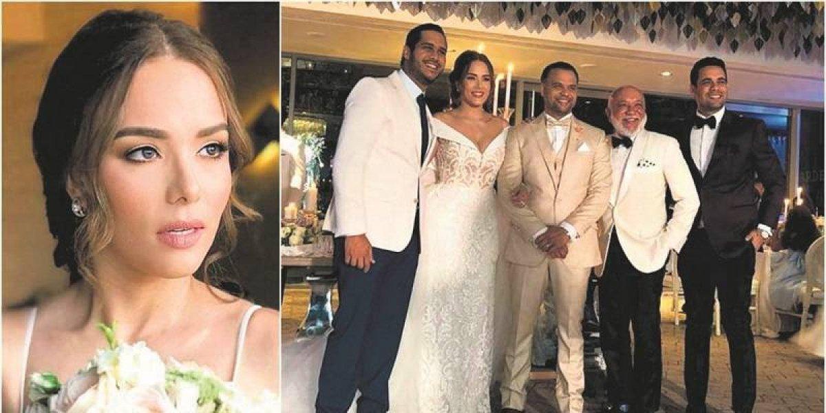 Comunicadora Isaura Taveras y José Darío unieron sus vidas en matrimonio