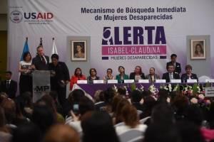 activan alerta Isabel Claudina para búsqueda de mujeres desaparecidas
