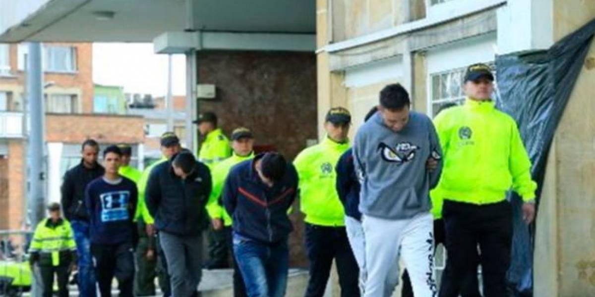 """Así operaba la banda """"Los Rolex"""", que robaba en restaurantes y parques de Bogotá"""