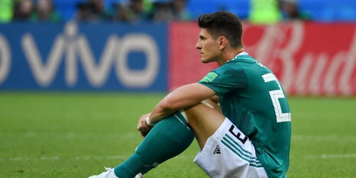 Mario Gomez anuncia su retiro de la selección de Alemania