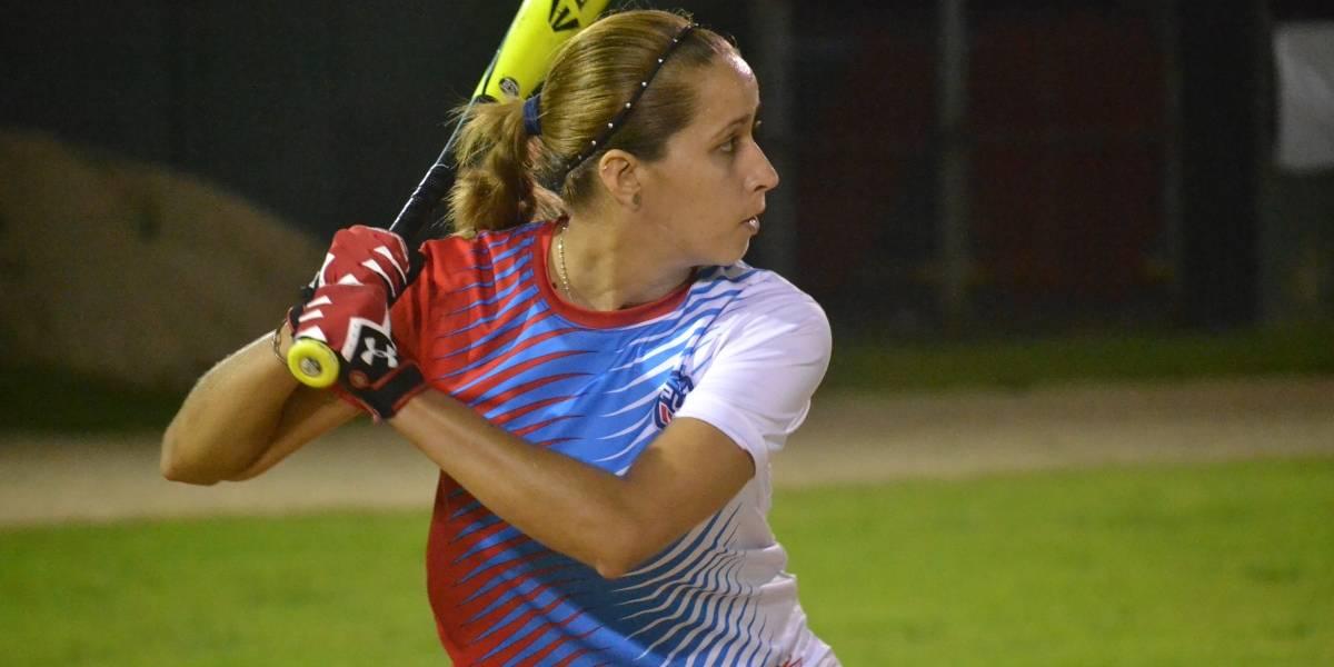 Motivada la selección nacional de béisbol femenino