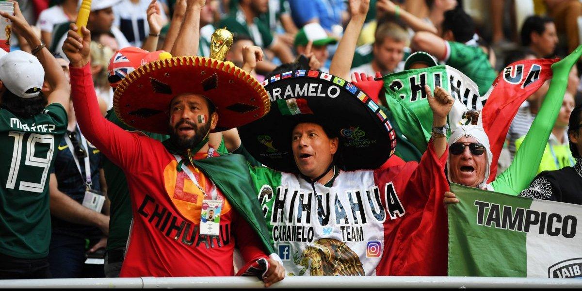 Mexicanos, el mayor contingente de aficionados que asistió al Mundial de Rusia