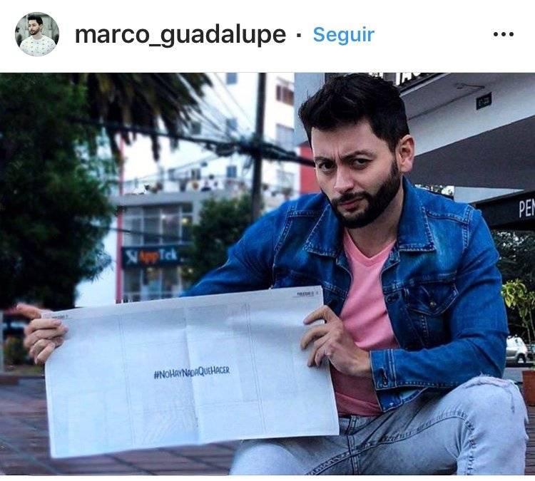 """Entre los usuarios que escribieron están: @Marco_guadalupe: """"#YoDisfruto tomar fotos a donde quiera que vaya""""; Instagram"""