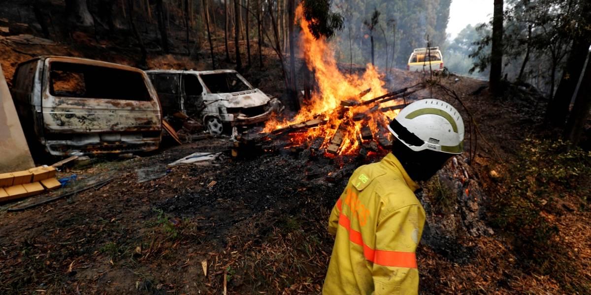 Onda de calor na Europa: Incêndios deixam diversos feridos em Portugal