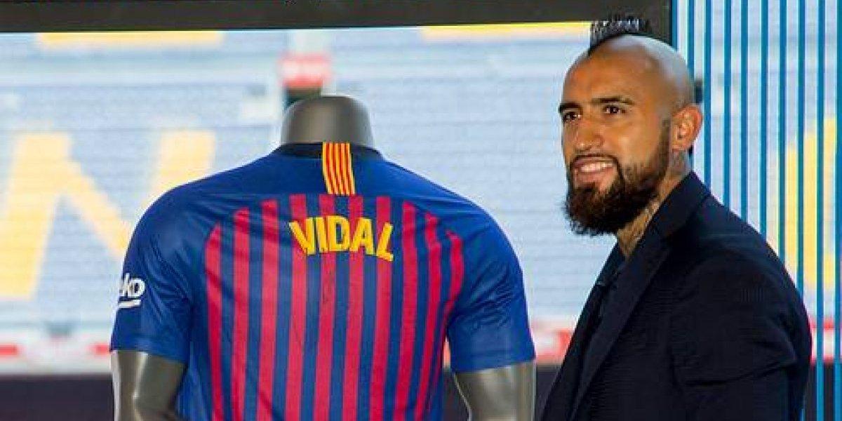 ¿Qué número usará Vidal en el Barcelona? Las opciones que tiene disponible el Rey Arturo