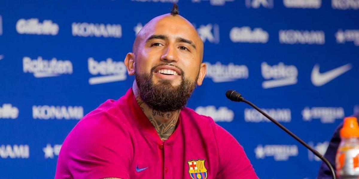 La prensa argentina quedó vuelta loca con el guiño de Vidal a Messi en el Barcelona