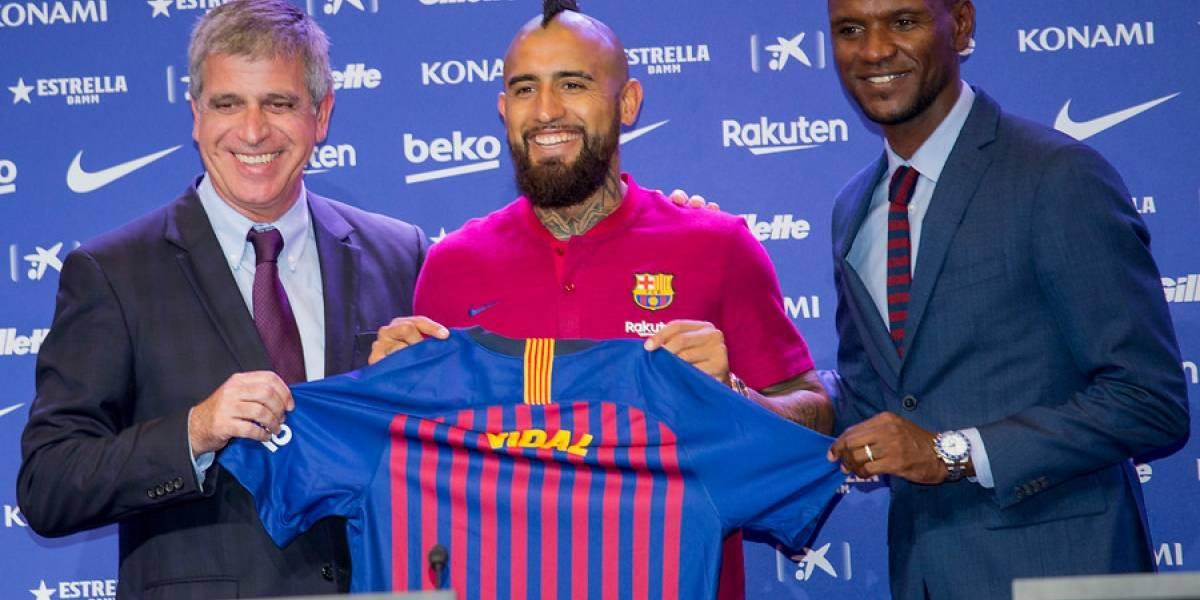 "Un humilde Vidal se presentó en Barcelona: ""Messi es el mejor de la historia, espero estar a la altura de este equipo"""