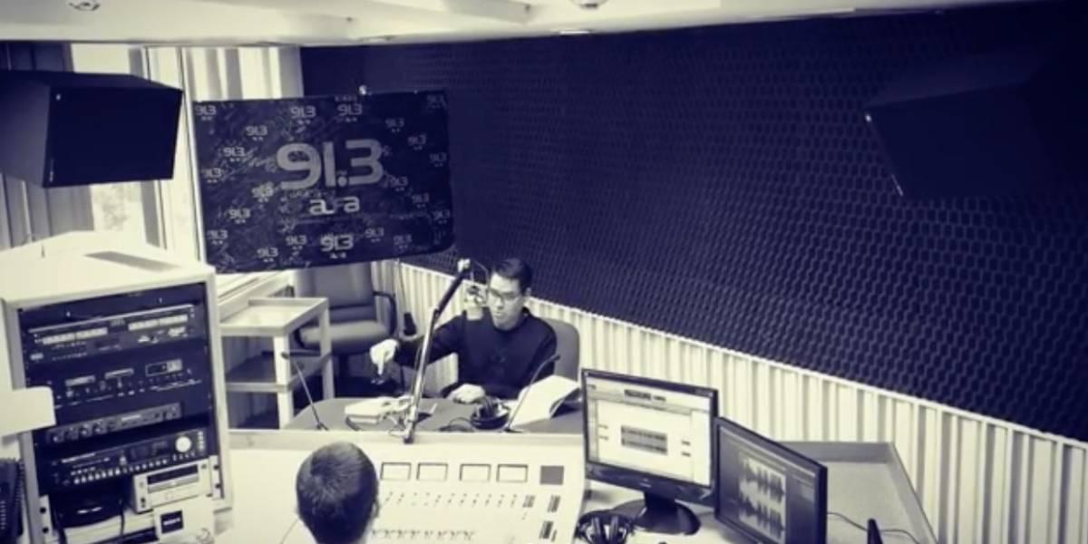 Toño Esquinca regresa a la radio y manda mensaje a AMLO
