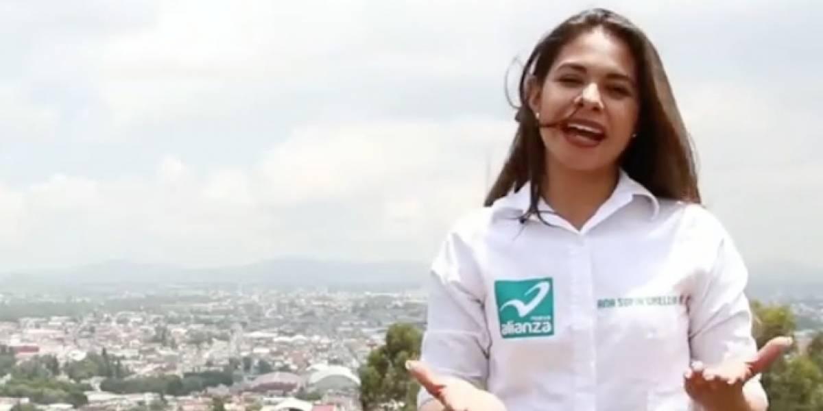 Ex candidata a diputada en México posa para Playboy