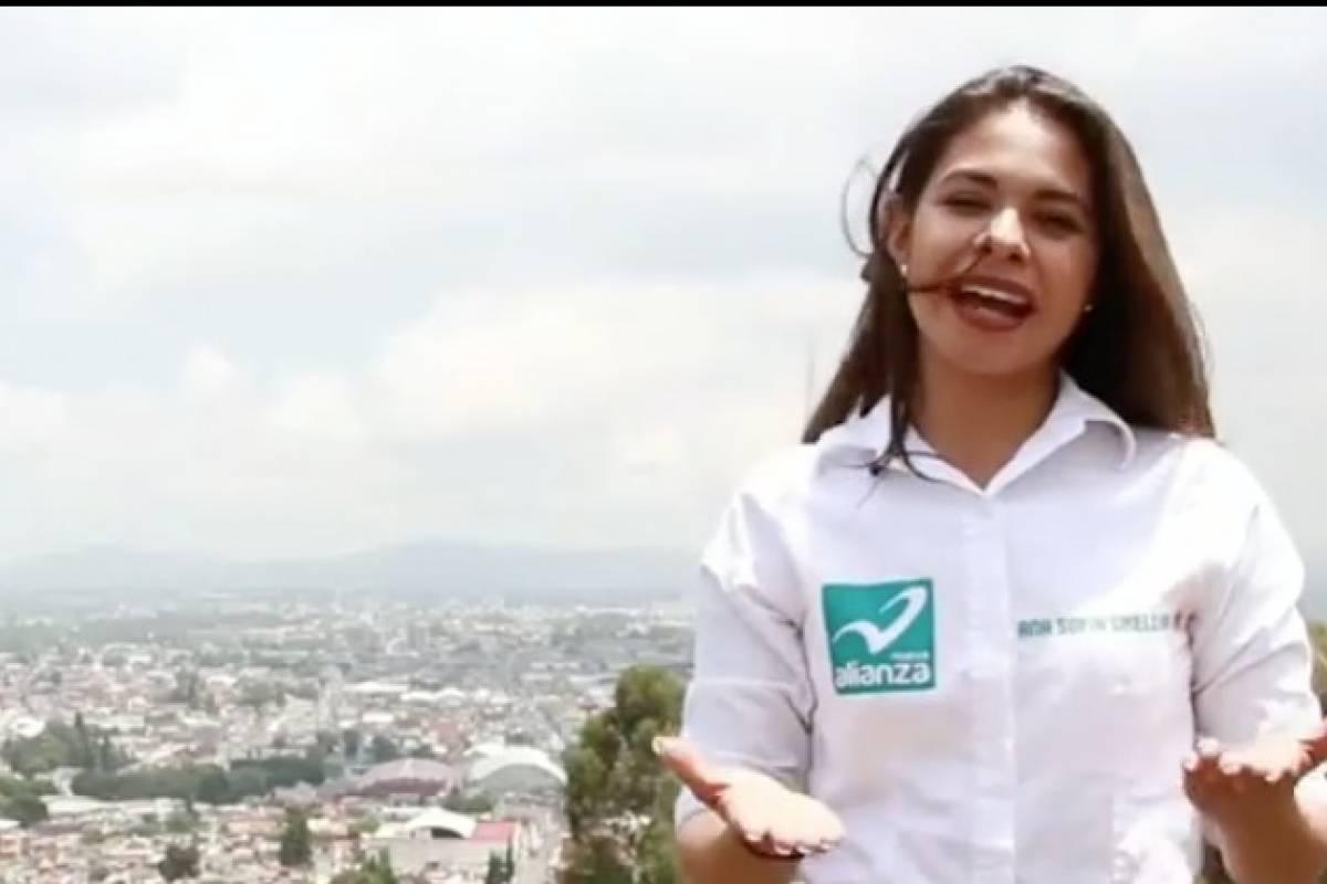 Ana Sofía Orellana excandidata a diputada en méxico posa para playboy | nueva mujer
