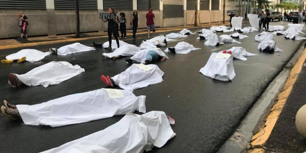 Protestan por 42 asesinatos de mujeres a manos de sus parejas en los últimos tres años