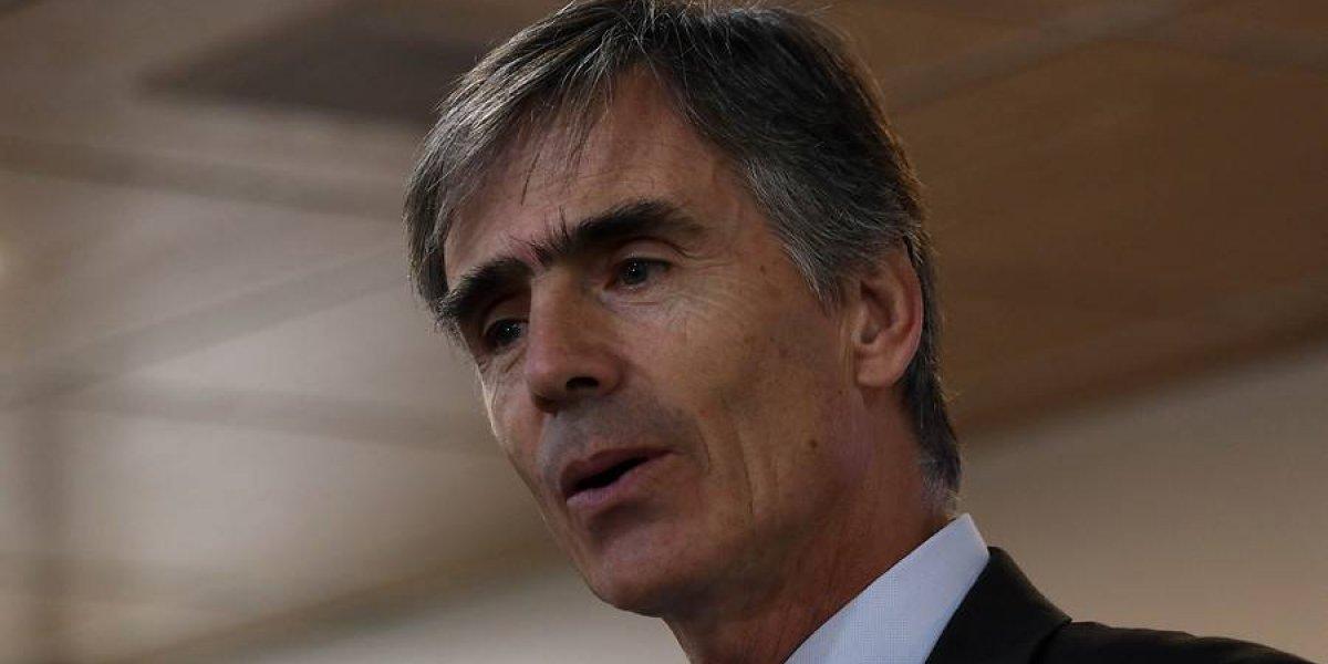 """Ministro Valente no esconde su alegría por Imacec de junio: """"Nuestra economía está creciendo prácticamente cuatro veces más que el año pasado"""""""
