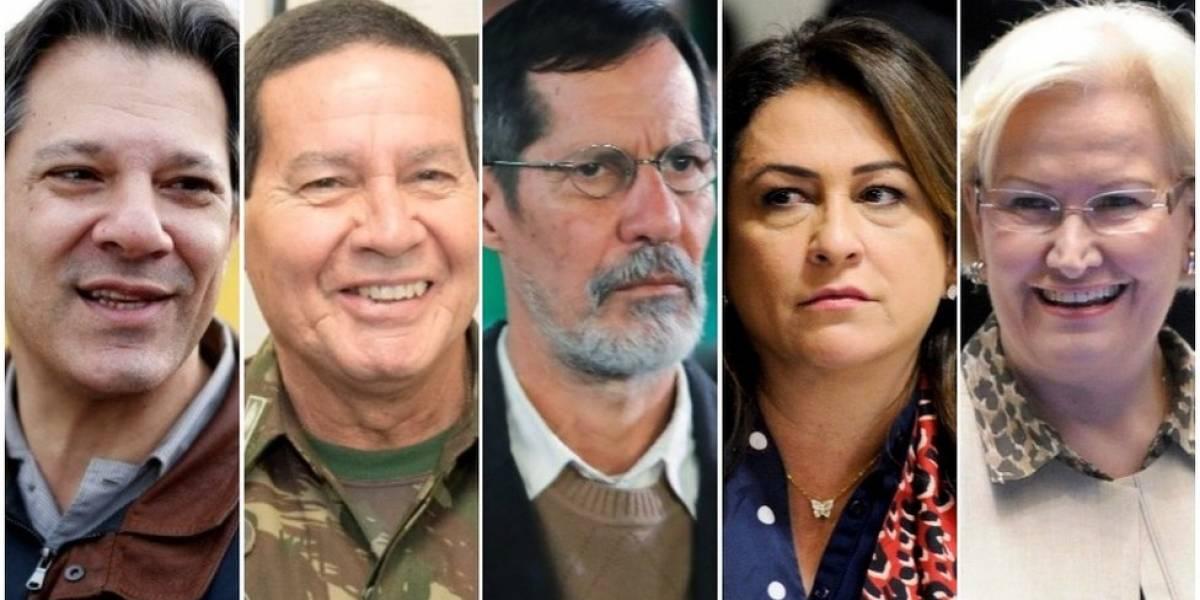 Eleições 2018: quem são os candidatos a vice e o que agregam a seus presidenciáveis?