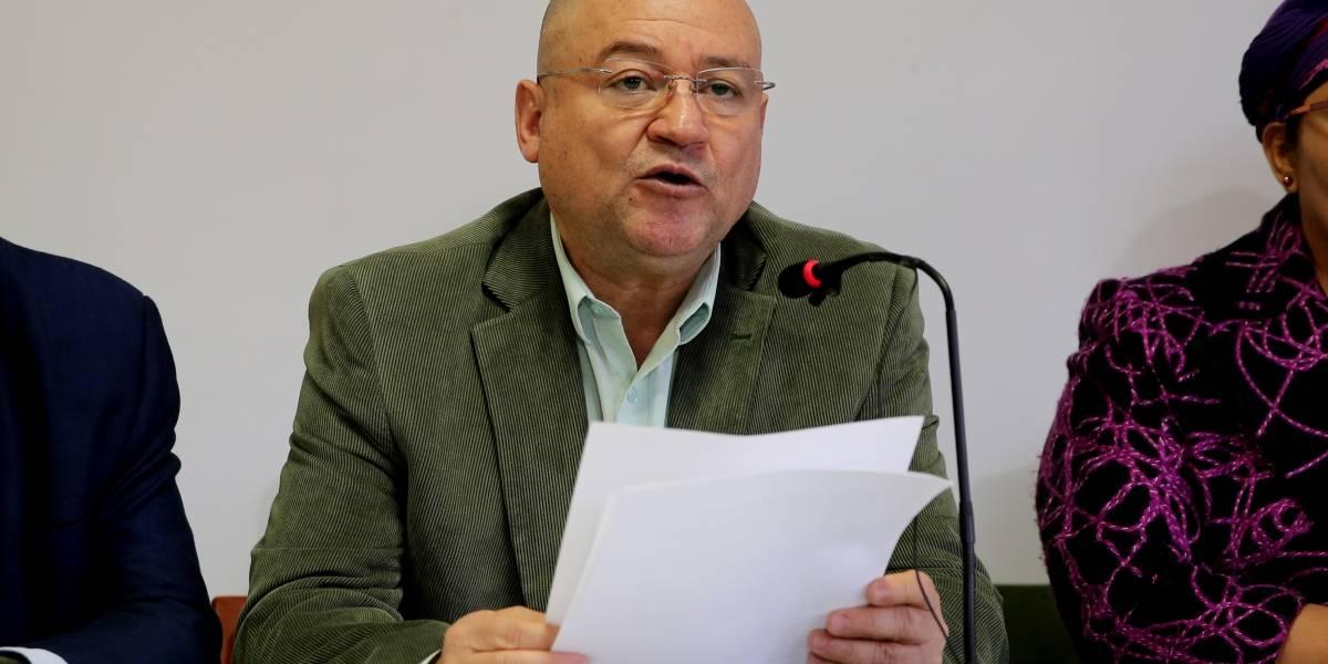 Senador de la Farc, Carlos Antonio Lozada, dice que no lo dejaron entrar a la posesión de Duque