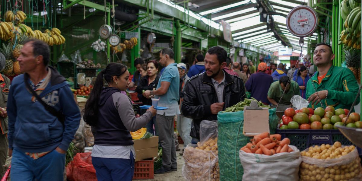 Confirmados casos de coronavirus en la Plaza de Paloquemao